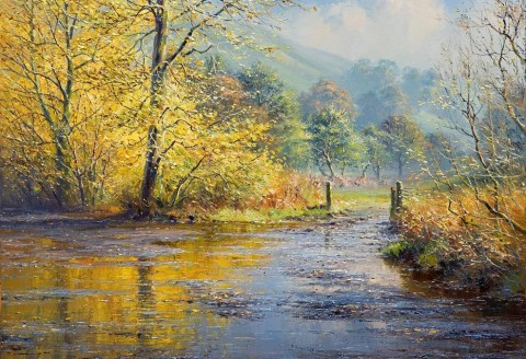 After the Rain, Beresford Dale - Rex Preston