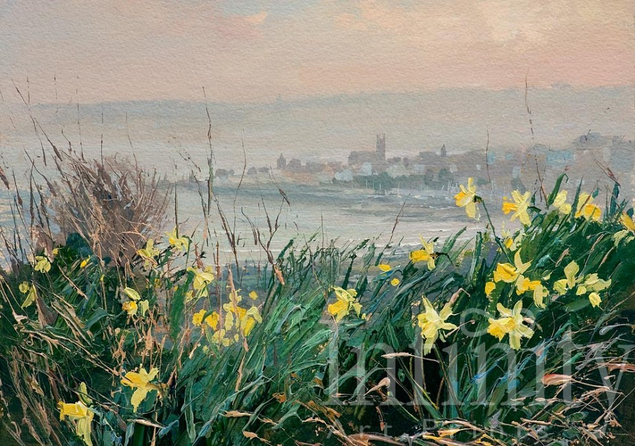 Early Spring Towards Penzance