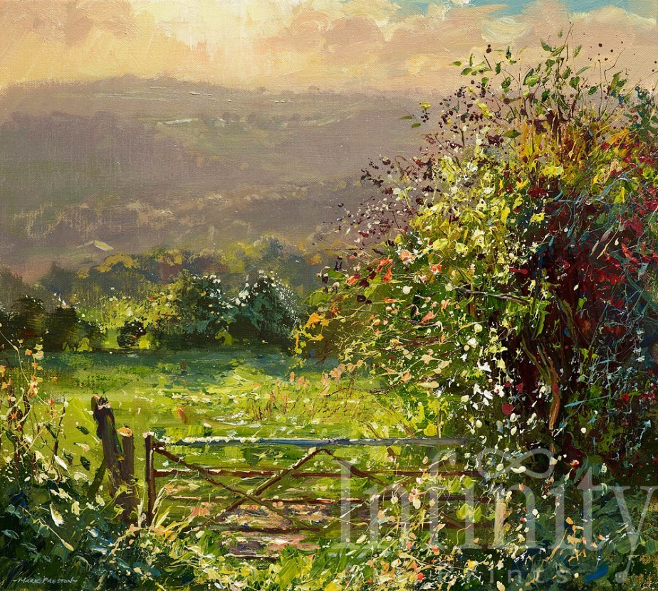 September Evening, Ashleyhay
