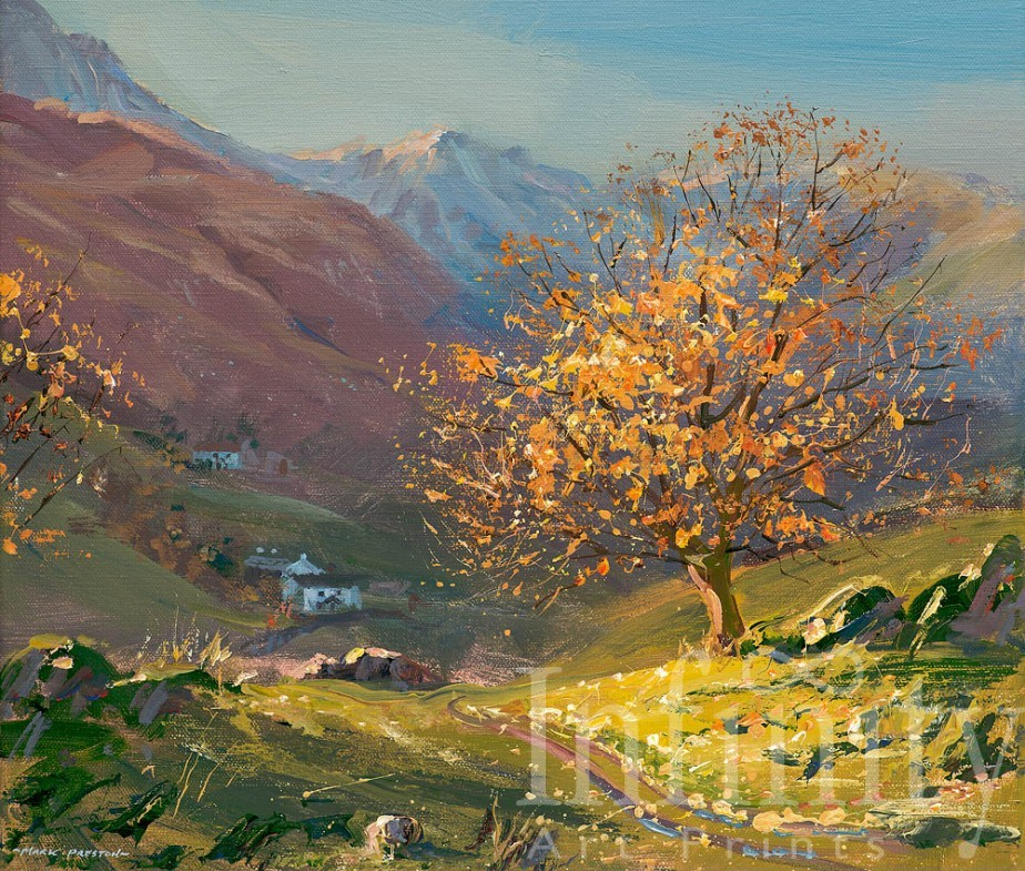 November Sunlight, Little Langdale